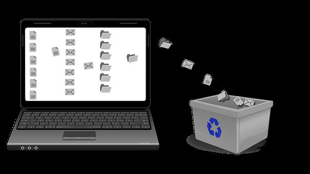 Computer, To Remove, Files, E-Mail