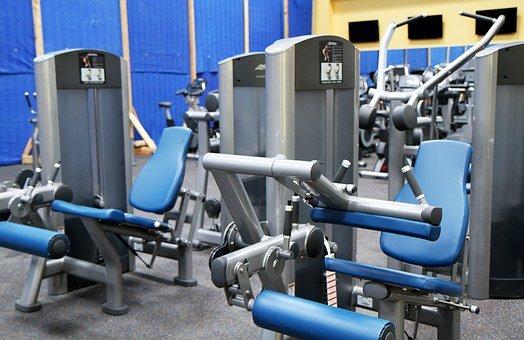 Gym Room, Fitness, Sport, Equipment