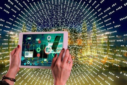 Internet, Social Media, Woman, Tablet