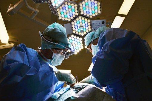Doctor, Surgeon, Operation, Instruments
