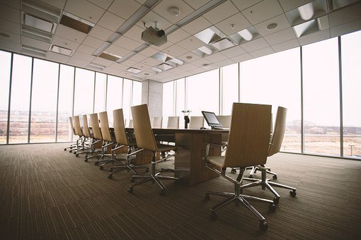 Conference Room, Table, Office, Business