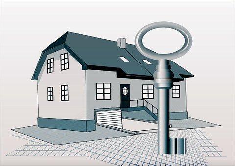 House, Building, Key, Plan, Turnkey