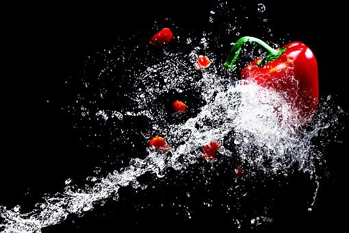 Water, Water Splashes, High Speed