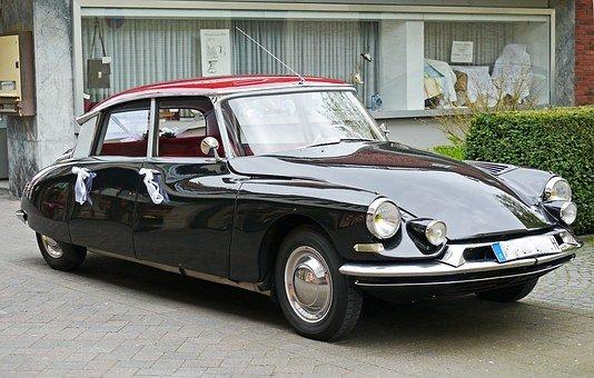 Citroen, Ds19, Wedding Car, Car Rental