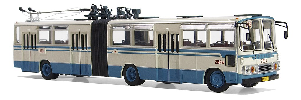 Huayu Bd 562, Trolley Buses, Model Buses