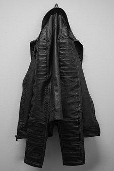 Jacket, Leather Coat, Clothing