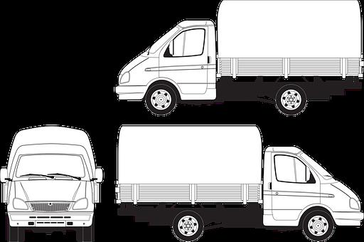 Gas, Gazelle, Awning, Body, Truck