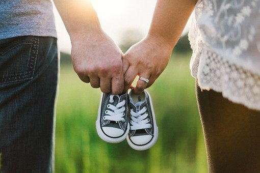 Holding Hands, Shoes, Little, Baby