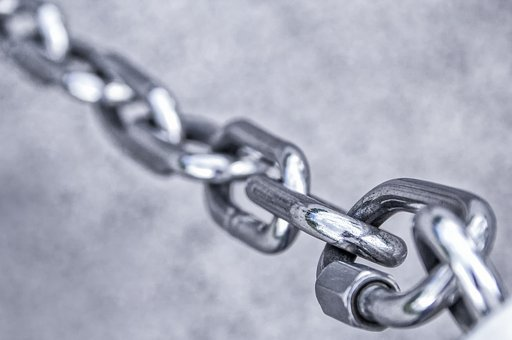 Chain, Stainless Steel, Metal, Iron