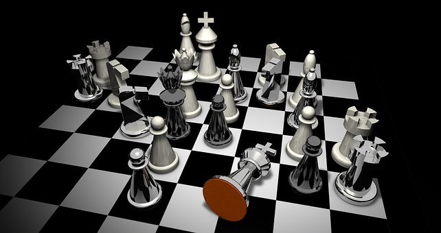 Checkmate, Chess, Figures, Chess Pieces
