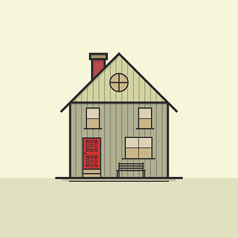 House, Icon, Symbol, Architecture, Roof