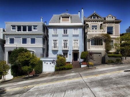 San Francisco, California, Houses