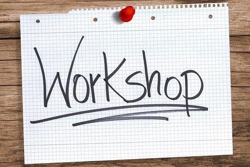 Workshop, Paper, Notebook, Side