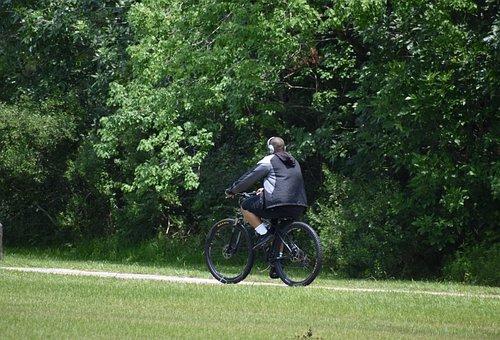 Bicyclist, Bike Riding, Mountain Bike